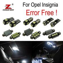 12 pz Errore di spedizione per Opel Insignia Berlina Saloon Immobiliare Hatchback di Sport HA CONDOTTO LA lampadina Kit Luce Interna (2008- 2016)