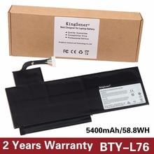 KingSener Новый BTY-L76 ноутбука Батарея для MSI Erazer X7613 MD98802 MS-1771 XMG C703 GS70 GS72 GS60 BTY-L76 11,1 В 5400 мАч