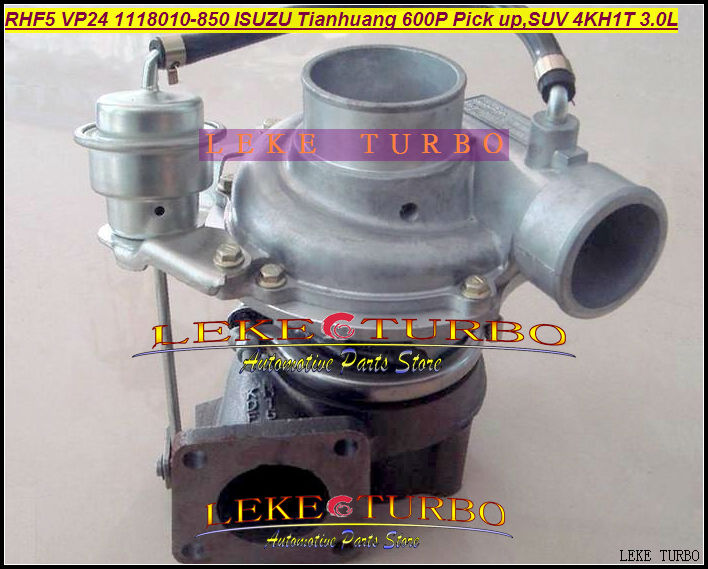 RHF5 VIDH VP24 1118010-850 Turbine Turbo Turbocharger For ISUZU Tianhuang 600P Truck Diesel,Pick up,SUV 4KH1T 3.0L 130HP Gaskets free ship turbo rhf5 8973737771 897373 7771 turbo turbine turbocharger for isuzu d max d max h warner 4ja1t 4ja1 t 4ja1 t engine