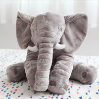 60cm Ins Elephant Soft Plush Toy Animals Dolls For Kids Christmas Gifts Baby Appease Sleep Pillow