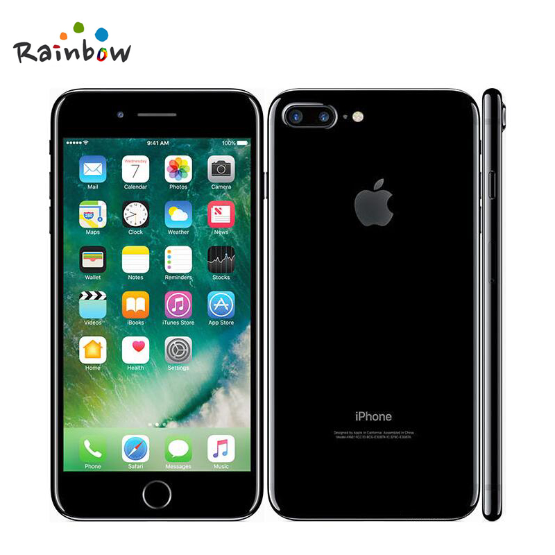 """Original Apple iPhone 7 Plus Factory Unlocked Mobile Phone 12MP Two Cameras Wide Angle 4G LTE 5.5"""" Quad Core A10 3G RAM 32G ROM