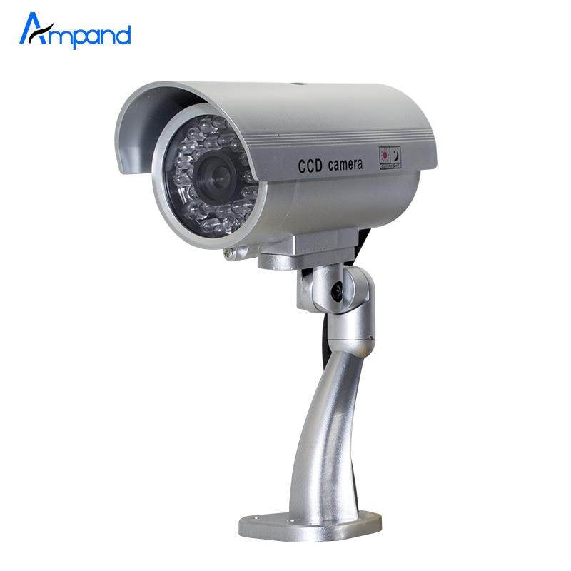 outdoor indoor waterproof fake bullet camera led light fake security. Black Bedroom Furniture Sets. Home Design Ideas