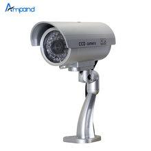 Крытый Водонепроницаемый Поддельные Камеры Пуля Свет Поддельные камеры Безопасности Моделирование Камеры ВИДЕОНАБЛЮДЕНИЯ видеонаблюдения