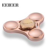 New Hand Spinner EEIEER Adults Kid Metal Finger Spinner Cube High Speed R188 Bearing For Autism