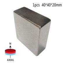 Цельнокроеное платье блока 40x40x20 мм супер сильный редкоземельных магнитов N52 неодимовый магнит