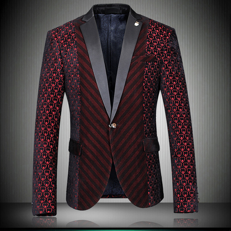 Popular Suit Jacket Colorful Men-Buy Cheap Suit Jacket Colorful ...