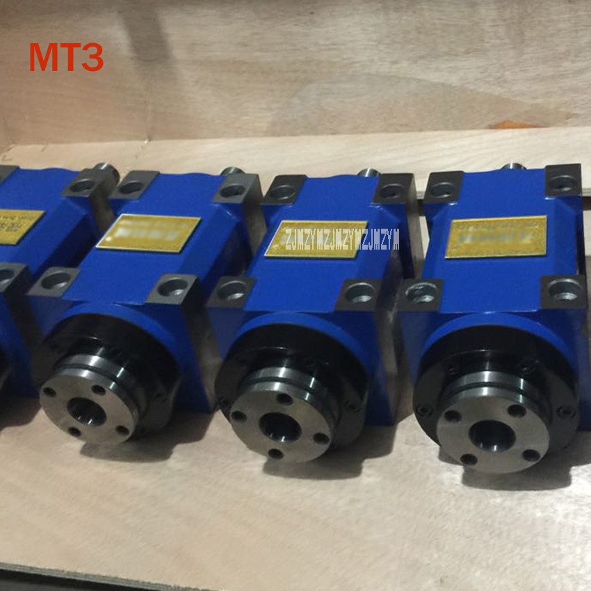 CH002 MT3 Spindle Taper Chuck 0.37KW Power Head Power Unit Machine Tool Spindle Max.RPM 3000rpm for Milling Machine HOT SALE