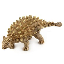Dinosaur ABS Model Toy Saichania Zoo Wild Animal For Children Holiday Present And Scene Props Plastic Toy Animal