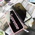 Зеркало и Кожаный чехол Стиль Моды Розовый Верховного ТПУ Случаи Мобильного Телефона крышка Для iPhone 5 5S SE 6 6 S 4.7 6 Плюс 7 Плюс 5.5 дюймовый