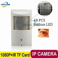 HQCAM 1080P Audio Mini IP Camera 940nm Night vision IR Camera IP Camera Indoor Security CCTV IP Camera 3.7mm Lens+ 32G TF card