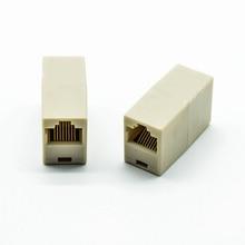 Cable-Network-Extender 8P8C Straight-Junction-Box Passthrough-Connector 5pcs/Lot End-End