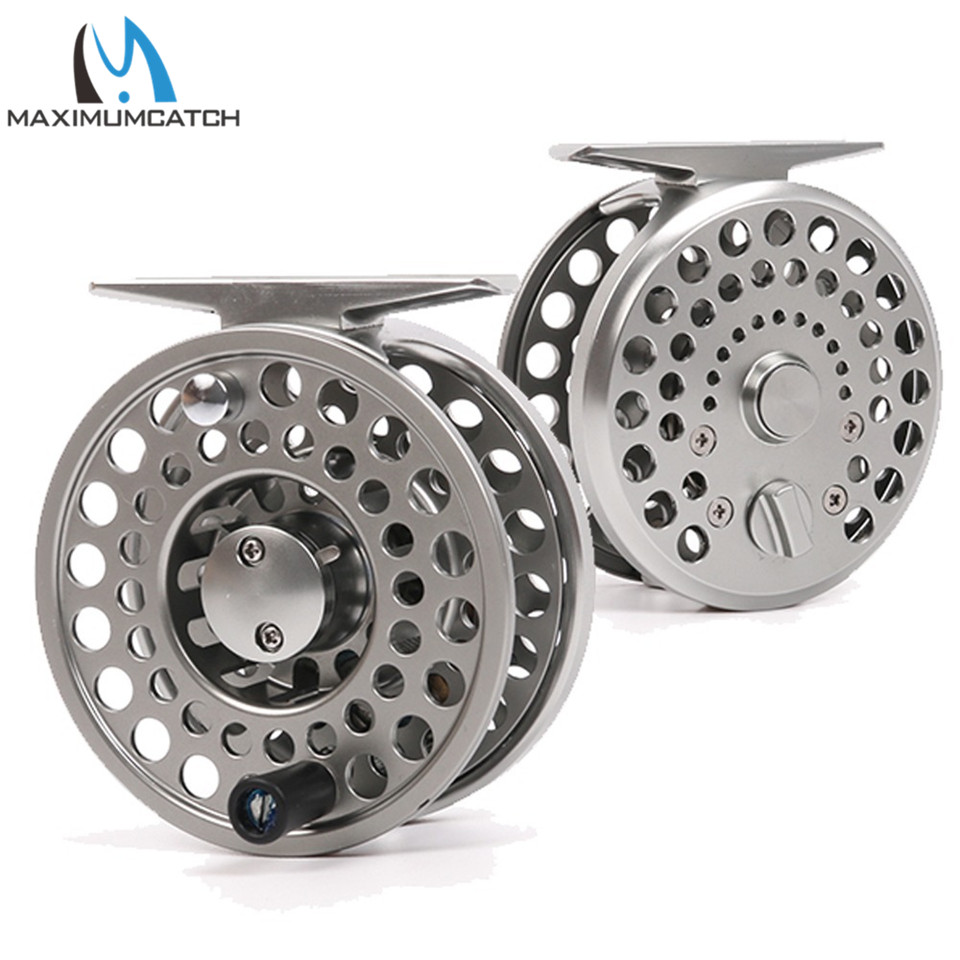 Maximumcatch 2/3/4 WT Clicker and Pawl Trout Fly Reel Sliver Aluminum Classic Trout Fly Fishing Reel lpsecurity 3g s261 gsm sms 4 sensor inputs temperature monitoring rtu online temperature alarm controller data transmission unit