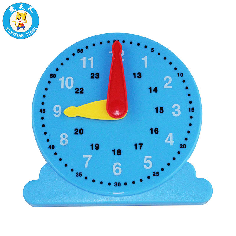 Montessori Baby Kids Toys Early Education Cognitive Clock Time Learning Teaching Supplies