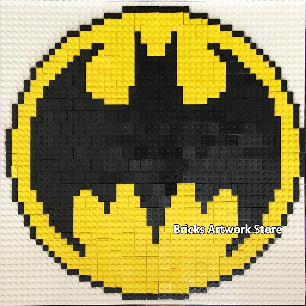 50*50 Pixel Art Mosaic Painting Set DIY Marvel Super
