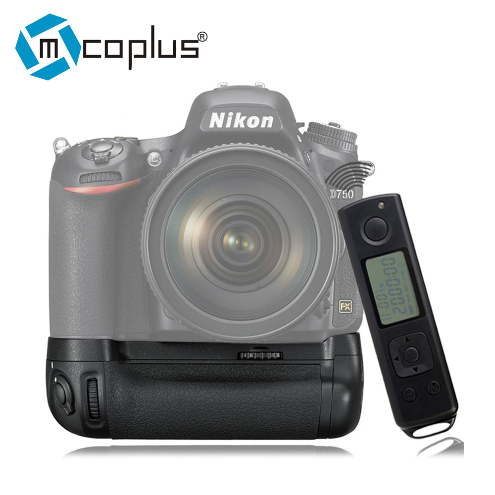 Mcoplus Venidice VD-DR750 Battery Grip for Nikon D750 as MB-D16 with 2.4G Wireless Remote Control as Meike MK-DR750 meike mk dr750 mb d16 built in 2 4g wireless control battery grip for en el15 nikon d750 dslr camera