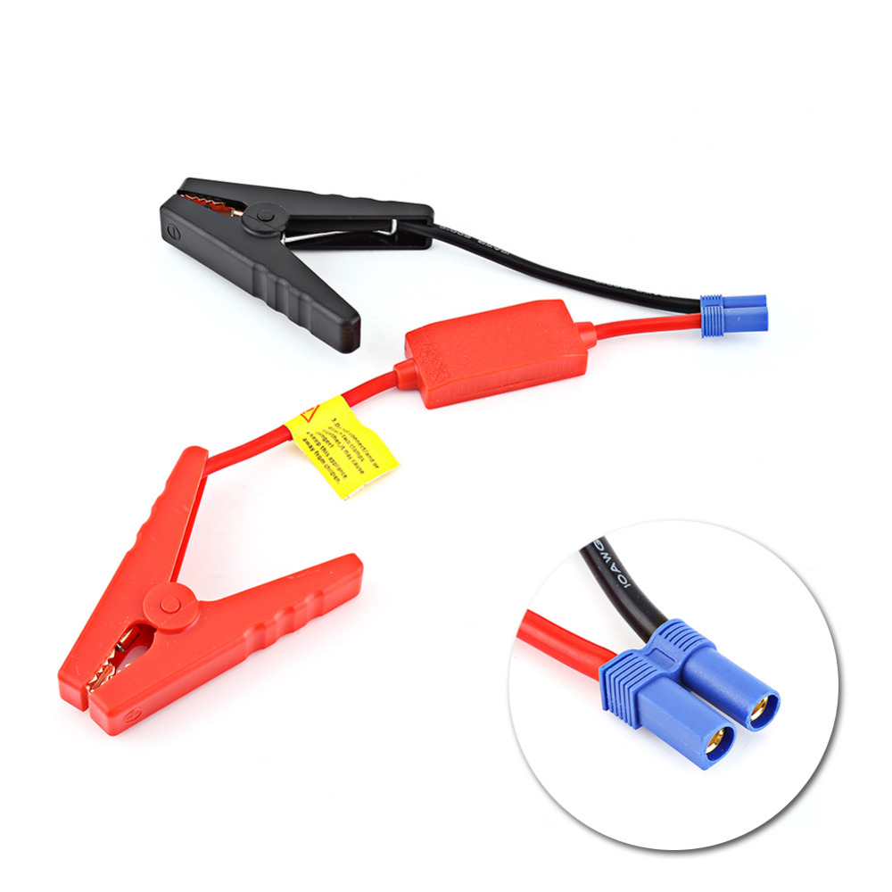 Automatic Jumper Cables : Booster cable for auto car battery connection jumper jump