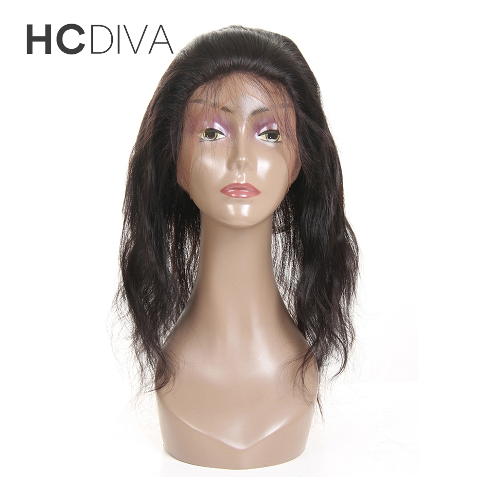 HCDIVA Brazilian Body Wave 22 4 2 Pre Plucked 360 Lace Frontal with Baby font