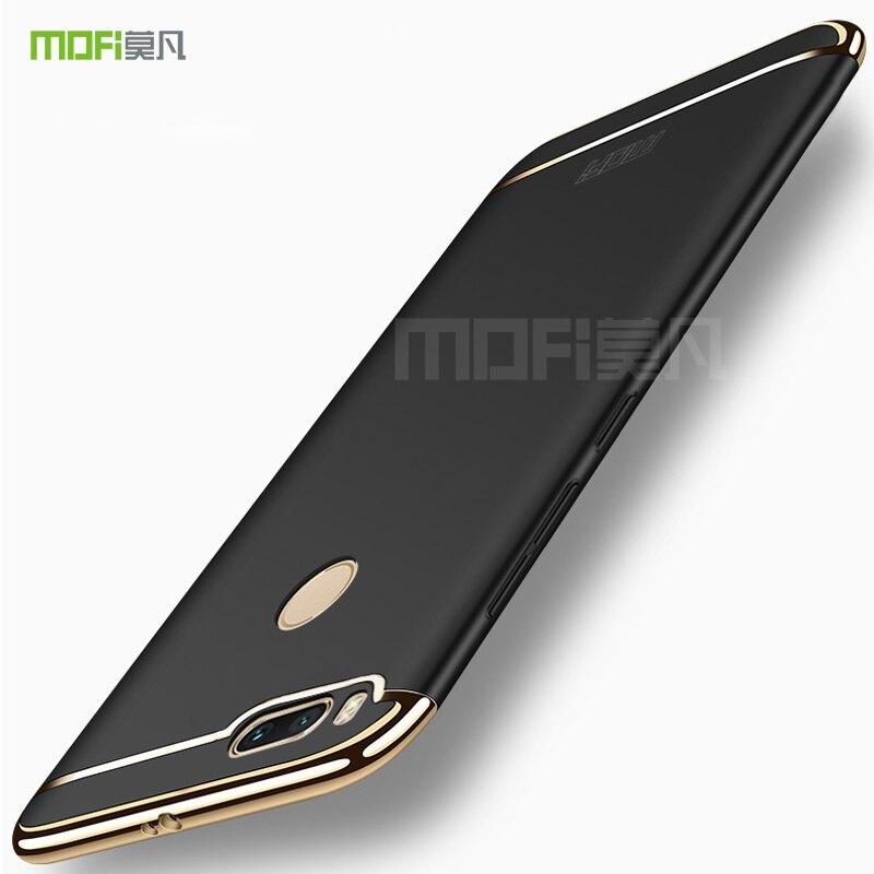 Xiaomi Mi A1 Case MOFi Back Luxury Coque Hard Full Case Cover For Xiaomi Mi A1 5X MiA1 Mi5X 3 in 1 Metal Camera Protection