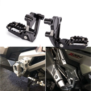 Image 5 - Motorcycle CNC Aluminum Rear foot Rear set Footrest Foot Pegs Pedal Passenger Rearsets FOR HONDA X ADV X ADV 300 750 1000  17 19