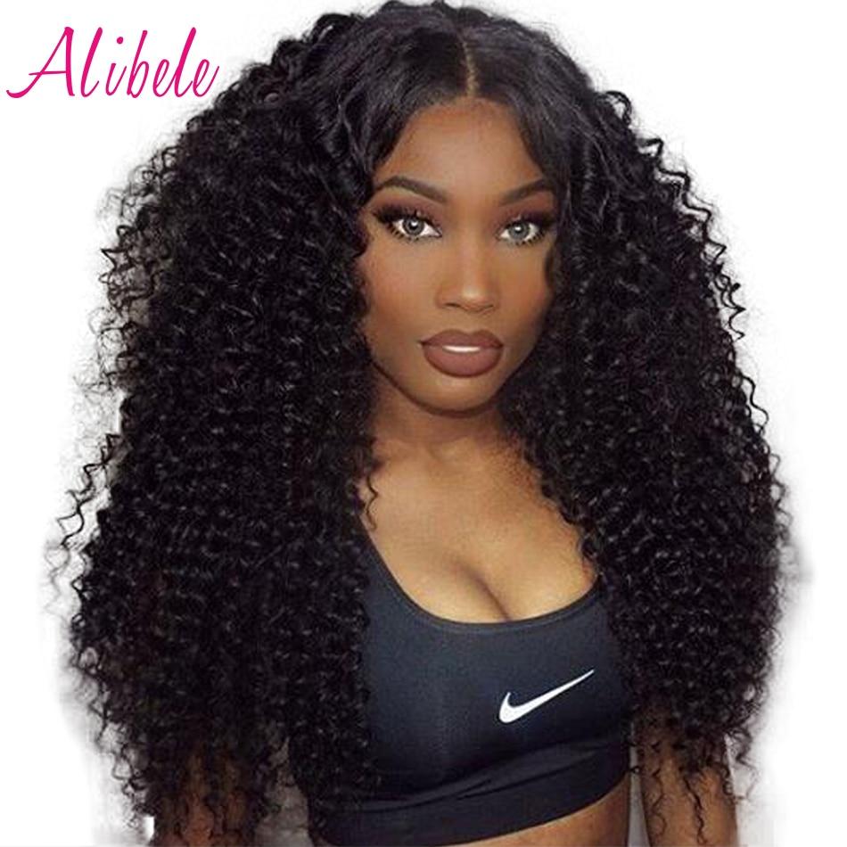 Alibele Peruvian Deep Curly Hair Weave Bundles 100% Human ...