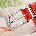 Высокое качество женский ремень подлинной кожаный пояс женщины ремень марки поясной ремень с пряжкой ремня пряжки ремня чисто бесплатная доставка + коробка