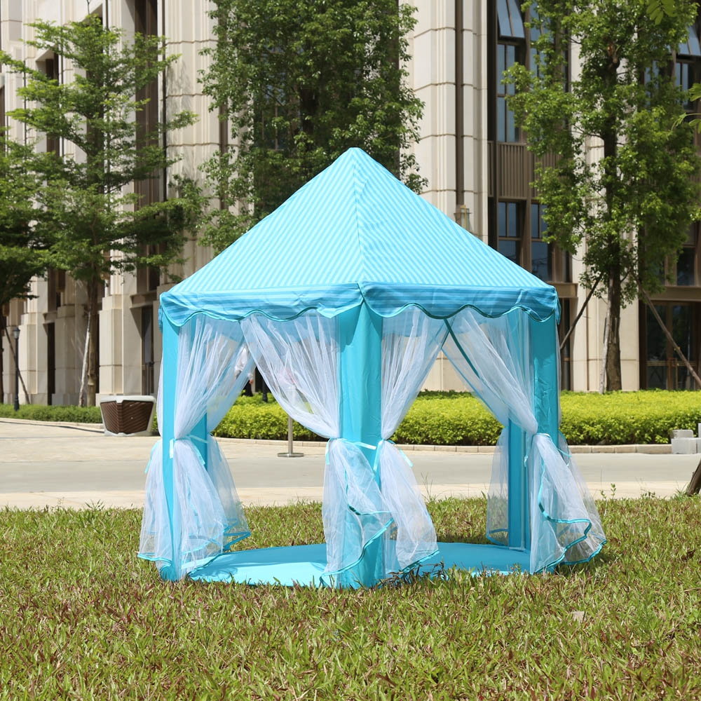 Portable Outdoor Play Tent Indoor Baby Toy Play Game House Kids Princess Prince Castle Play Garden Playhouse Kids Toy Storage-in Toy Tents from Toys ... & Portable Outdoor Play Tent Indoor Baby Toy Play Game House Kids ...