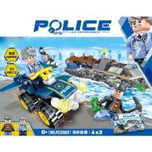 Ciudad serie militar SWAT policias ladrones coche bloques de construccion ladrillos modelo juguetes Compatible con Legoing цены
