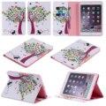 Для Apple iPad mini 4 3 2 1 Красочные Дерево Кожа PU Стенд Case Tablet задняя Крышка для Apple iPad air 3 2 1 ipad 2/3/4 5 6 Case