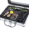 80pcs DC 18V Electric Rotary Drill Grinder Polish Sanding Tool Set Kit Dremel Bit Case For