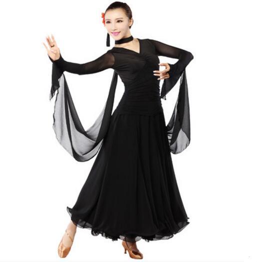 Femmes robe de danse de salon robe de danse de valse robes de concours de danse de salon robes Standard
