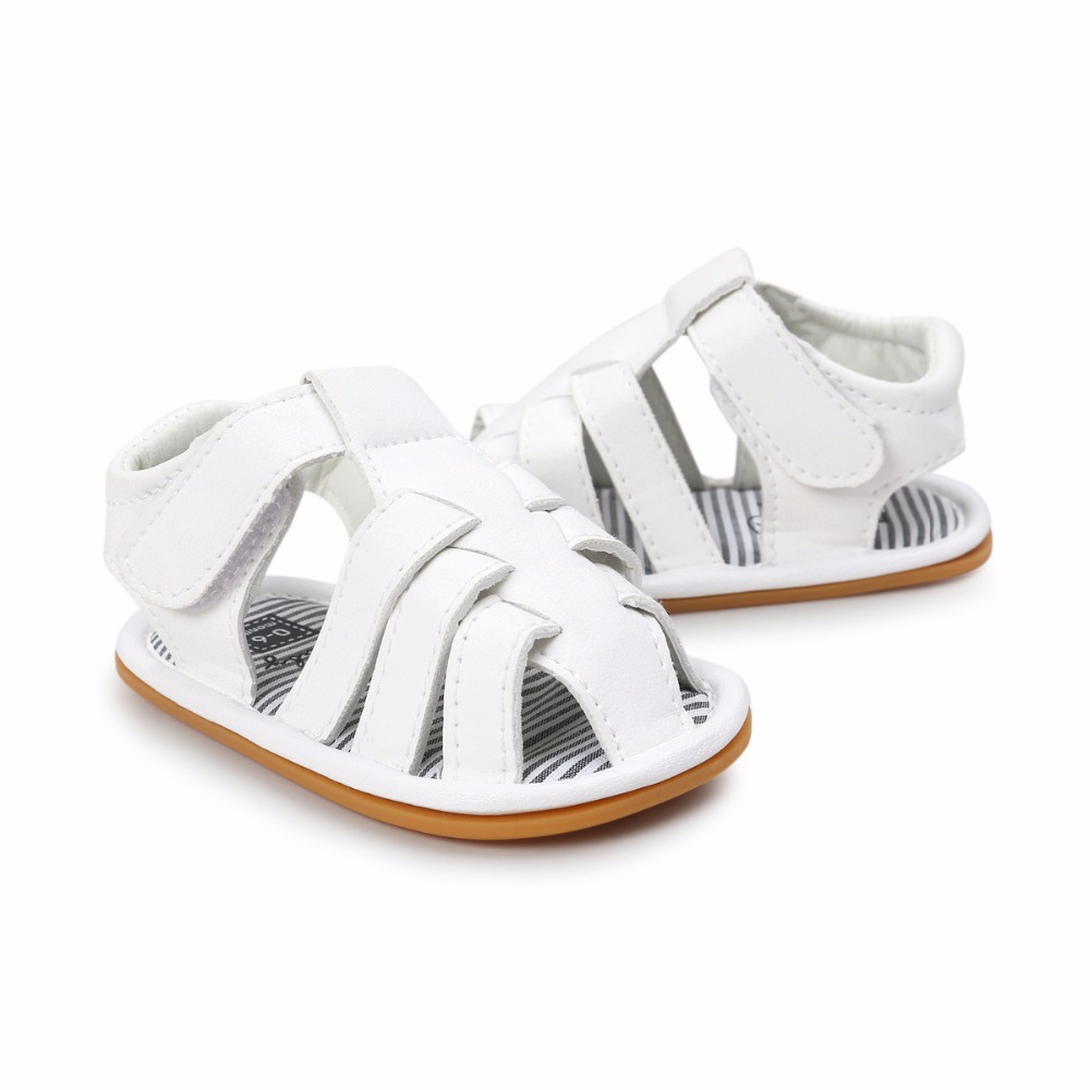 White-Color-Summer-Autumn-Newborn-Baby-Boy-Sandals-Clogs-Shoes-Casual-Breathable-Hollow-For-Kids-Children-Toddler-4