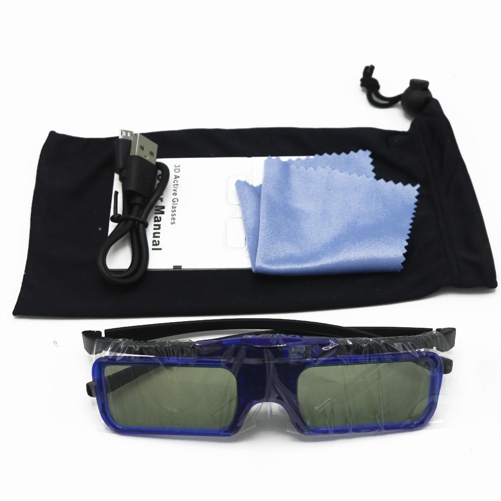 4 stücke Kinder 3D Gläser Aktive Shutter Wiederaufladbare Für Xgimi H1S/Z5/Z4X Jmgo G3/X1/ s1 BenQ Acer Optoma & DLP LINK Projektor