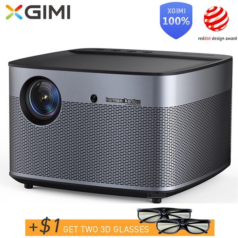 XGIMI H2 DLP Projecteur 1080 p Full HD D'obturation 3D 4 K Vidéo Projecteur Android tv Bluetooth Wifi Home Cinéma compensation de mouvement