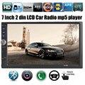 2016 Новый 2 DIN 7 ''дюймовый TFT экран Автомобильного радио плеер автомобиль аудио Стерео MP5 Аудио Сенсорный Экран поддержка Bluetooth заднего вида камера