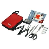 Original UD Coil Mate DIY Kit with ohm Meter /Ceramic Tip tweezer /CVS Cutter pliers scissor/coil jig RDA/RTA DIY Tool