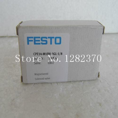 FESTO solenoid valve CPE14-M1BH-3GL-1/8 spot 196929 каталог festo