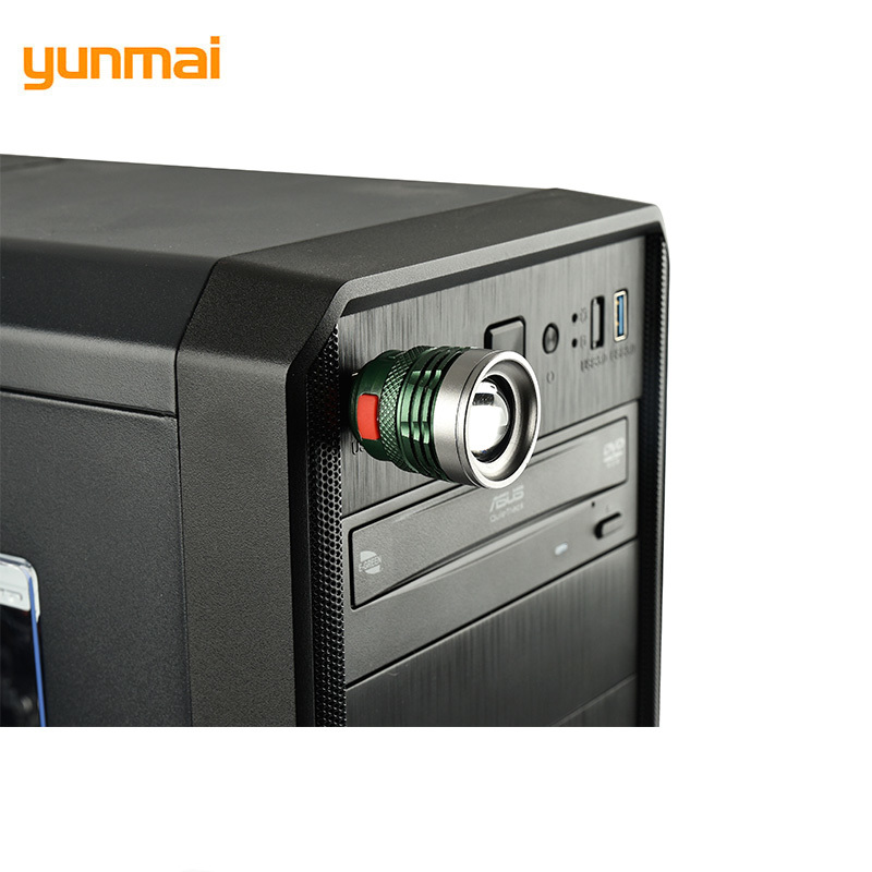 Led Usb Portable Charging Lantern Computer Light 3-Mode Reading Lamp USB Interface Mini Flash Light Q5 By Power Bank 926