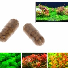 40 шт. водные растения корень воды удобрения сгущенный аквариум Cylinder-m18