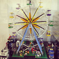 New 15012 LEPIN 2518pcs Creative Street playground Ferris wheel Toy Model Building Block Toys Gift Compatible With Legoe 10247