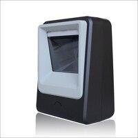 Бесплатная доставка Всенаправленный сканер 2D сканер тикетирование qr-код сканер usb-считыватель штрихкодов Настольный 2d сканирующая платфор...