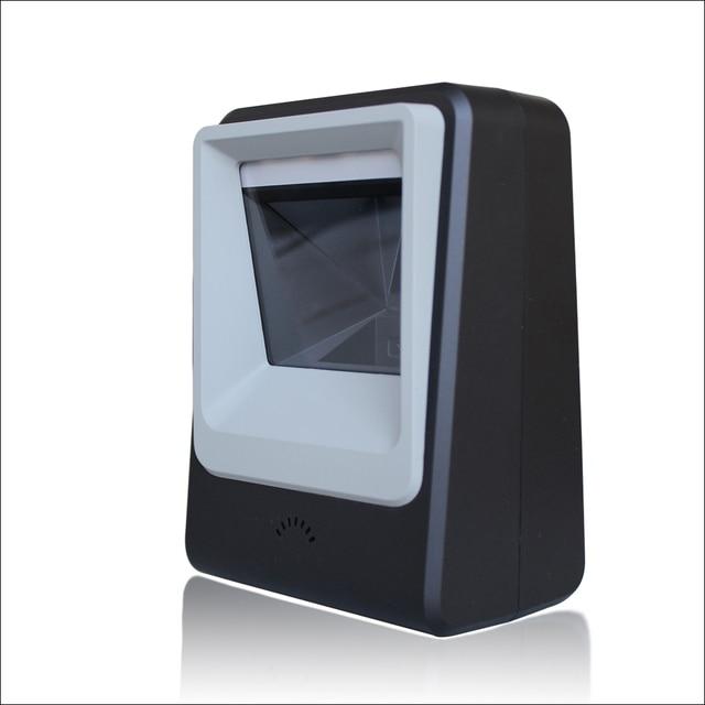 Freeshipping Omni Yönlü Tarayıcı 2D Tarayıcı Bilet QR Kod Tarayıcı USB Barkod Okuyucu Masaüstü 2d tarama platformu
