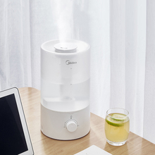 bear jsq a40a2 humidifier home mute bedroom high capacity pregnant women baby air filter sterilization aromatherapy machine 3.5L High Capacity Air Humidifier Filter Aromatherapy Household Mute 17H Long-term Humidification Transparent Water Tank