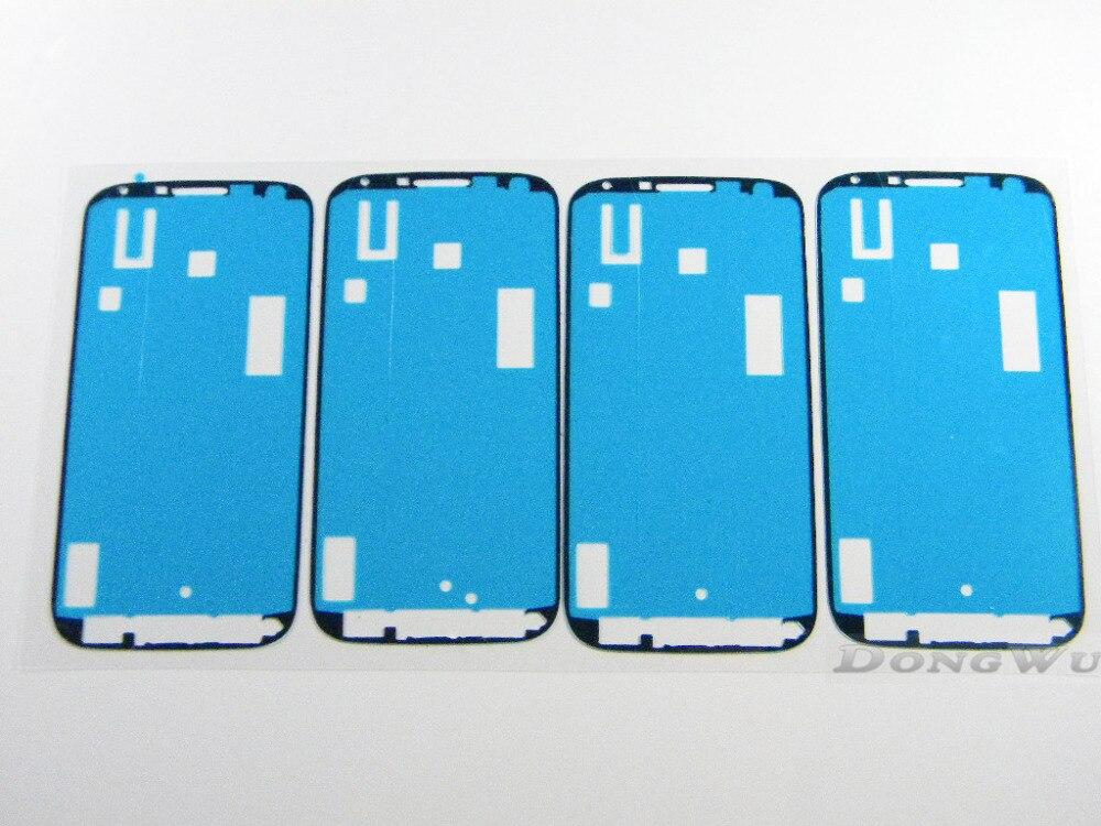 1 pieces <font><b>For</b></font> <font><b>Samsung</b></font> <font><b>galaxy</b></font> S4 i9500 i9505 L720 i545 Original sticker 3M Adhesive Digitizer <font><b>LCD</b></font> <font><b>assembly</b></font> Frame Cover