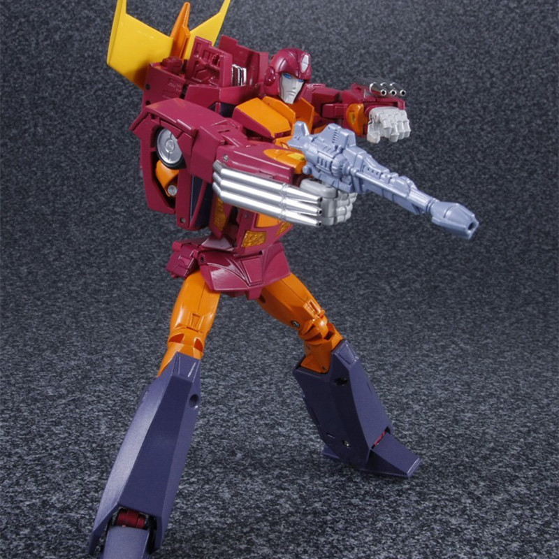 цена на Transformation MP28 Hotrod MP-28 Hot Rod Rodimus Action Figure 4th Party Toys IN Stock