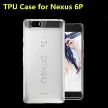 2015 New Soft Light 0 6mm Ultra thin TPU Phone Case For Huawei Nexus 6P Mobile