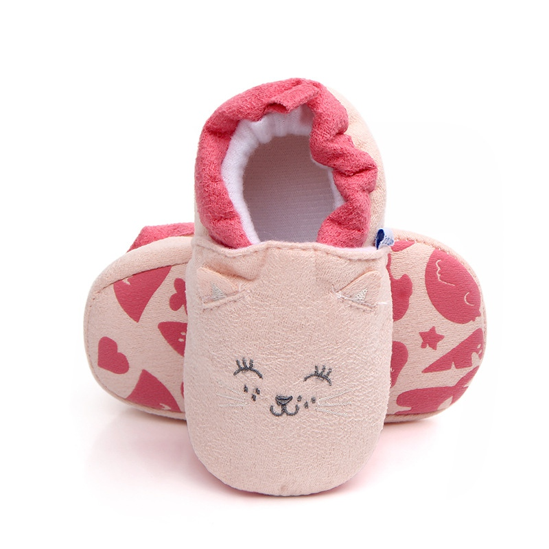 Baby Shoes Cotton Baby Girl Shoes Cartoon Cute First Walkers Baby Boy Shoes Household
