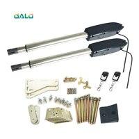 Автоматический двойной барьер swing arm шлагбаум двигатель открывалка линейный привод двигатели для автомобиля комплект с дистанционное упра