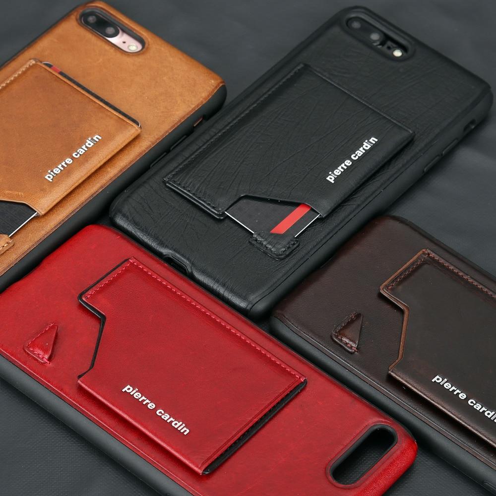 Apple iPhone 7 7 Plus հեռախոսի պատյան Pierre Cardin - Բջջային հեռախոսի պարագաներ և պահեստամասեր - Լուսանկար 3