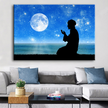 Muslim Bless Ramadan Wall Art Pilgrimage Posters Canvas Paintings Islamic Religious Prints Mosque Living Room Home Decor