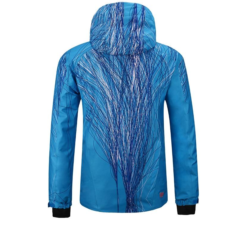 Pelliot marque hommes veste de ski témoin chaleur thermique snowboard veste respirante grande taille veste de sport pour camping neige - 6